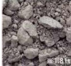 粒度調整砕石(りゅうどちょうせいさいせき)